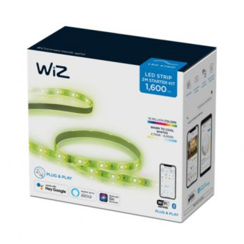 WIz - StarterKit Lightstrip 2M - ไฟเส้นแบบ 2 เมตร ปรับได้16 ล้านสี