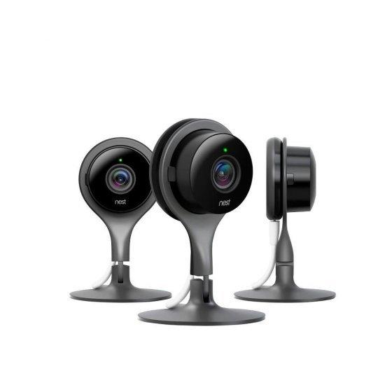 Google Nest Cam Indoor security camera กล้องวงจรปิด ดูผ่านโทรศัพท์