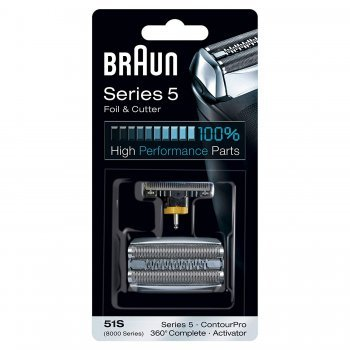 Braun 51S Series 5 ใบมีดเครื่องโกนหนวดไฟฟ้า (Replacement Foil & Cassette Cartridge)