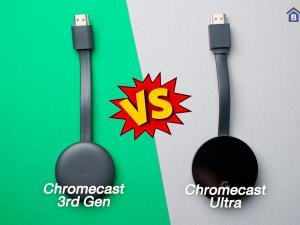 เปรียบเทียบ Google Chromecast 3rd Gen VS Google Chromecast Ultra เปลี่ยน TV ธรรมดาของคุณให้กลายเป็น Smart TV
