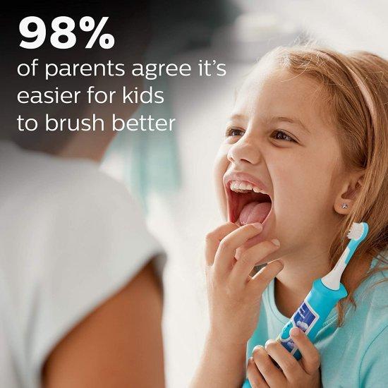 Philips Sonicare for Kid แปรงสีฟันไฟฟ้าสำหรับเด็ก ส่งเสริมการแปรงฟันให้กับเด็กๆ