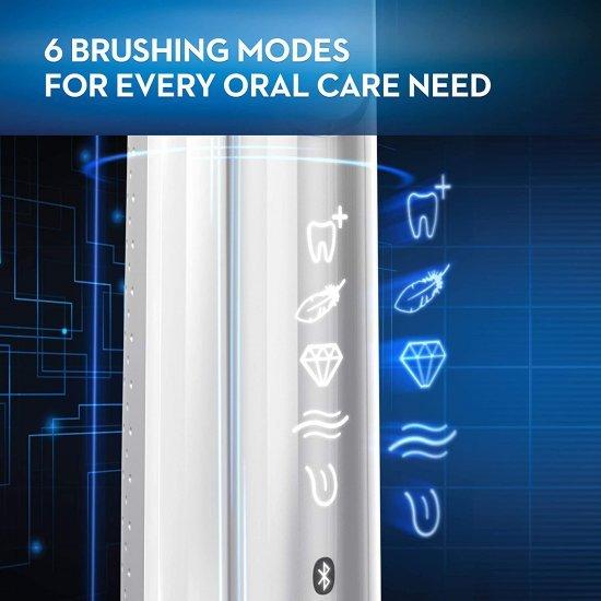 Oral-B Genius 8000 แปรงสีฟันไฟฟ้าเทคโนโลยีการแปรงฟันที่ดีที่สุด
