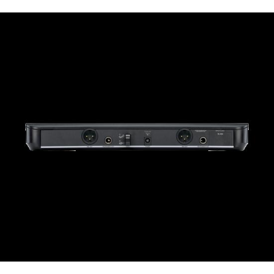 SHURE BLX288/PG58Wireless Dual Vocal System with two PG58 Handheld Transmittersชุดไมค์ลอย มือถือคู่