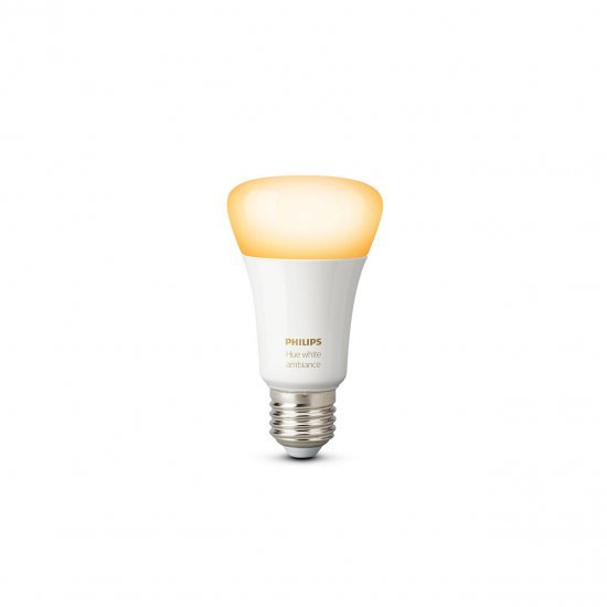 Philips Hue White (Bluetooth) Ambiance Single Bulb 9.5W A60 E27 หลอดไฟอัจฉริยะ