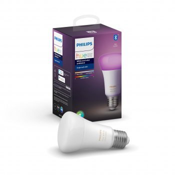 Philips Hue Bulb with Bluetooth หลอดไฟเปลี่ยนสีอัจฉริยะ เชื่อมต่อผ่านบลูทูธ 16 ล้านสี