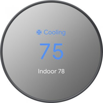 Google Nest Thermostat E ตรวจสอบอุณหภูมิเครื่องปรับอากาศอัจฉริยะ