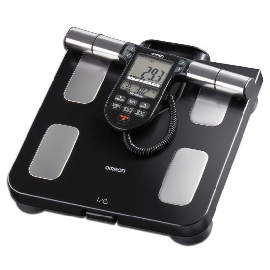 Omron HBF-516 Full Body Composition Monitor and Scale เครื่องชั่งน้ำหนักสุขภาพ ตรวจวัดทั่วร่างกาย