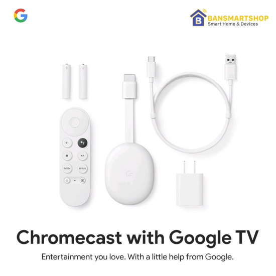 Google Chromecast with Google TVเปลื่ยนทีวีเก่าๆ ให้กลายเป็น Android TV