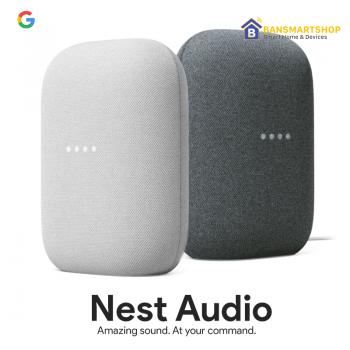 Google Nest AudioลำโพงอัจฉริยะSmart Speaker เบสหนัก เสียงดัง คมชัด