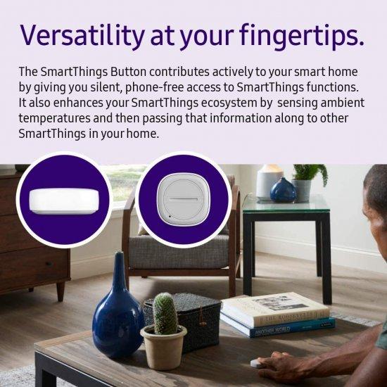 Samsung SmartThings Button (3rd Generation) ปุ่มควบคุมอุปกรณ์สมาร์ท