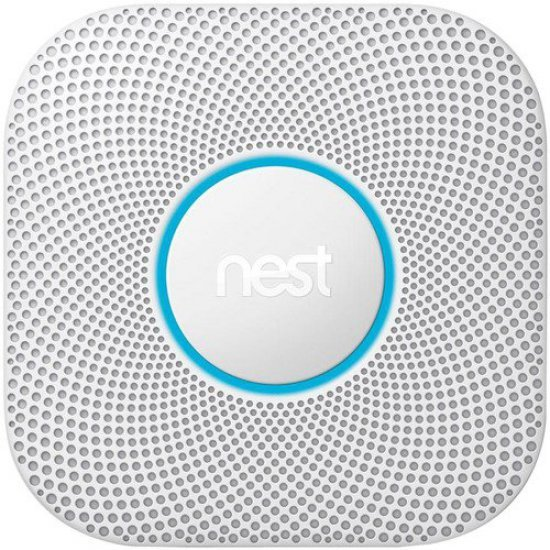 Google Nest Protect (2nd Gen)  ตรวจจับควันและคาร์บอน ป้องกันไฟไหม้