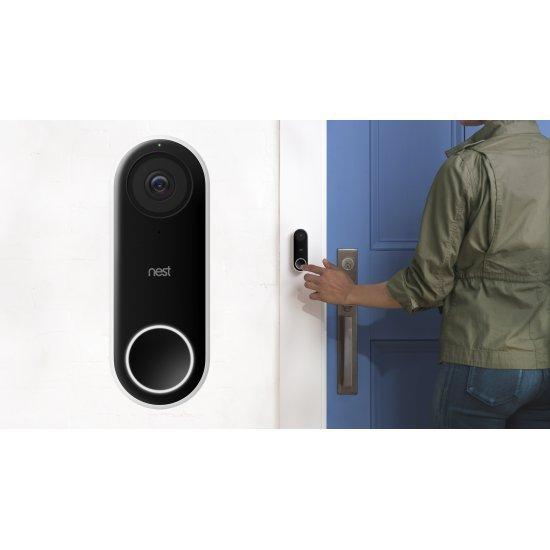 Google Nest Hello Video Doorbell กระดิ่งพร้อมกล้อง