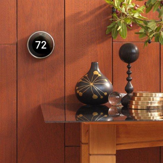 Google Nest Thermostat 3rd Gen - ควบคุมอุณหภูมิเครื่องปรับอากาศอัจฉริยะ